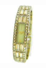 NEW DKNY GOLD TONE STAINLESS STEEL LADIES WATCH NY8630