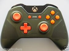 New Custom Halo 5 Guardians The Master Chief Xbox One Controller w/ Orange ABXY