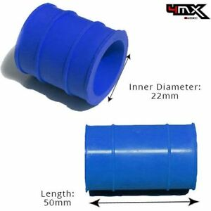Exhaust Rubber Seal Blue 22mm for Yamaha and Husqvarna Bikes
