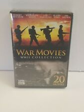 War Movies ~ WWII Collection ~ 20 Movies ~ 4-Disc DVD Set