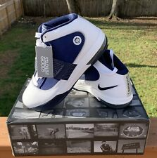 Lebron Zoom Soldier IV 4 TB white mid night navy 407630-104 DS