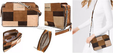 Michael Kors Crossbody Bag Astor Large Messenger Dark Caramel Bag
