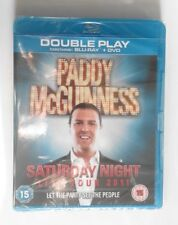 PADDY McGUINESS - Saturday Night Live BLU RAY + DVD NEW & SEALED comedy stand up