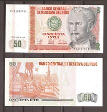 Peru - 1987 - Bankbiljet - 50 INTIS - UNC