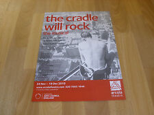 The CRADLE will ROCK  the Musical  2010  Original  ARCOLA  Theatre Poster