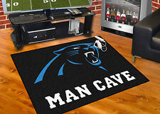 "Carolina Panthers Man Cave 34""x43"" All-Star Area Rug Mat"
