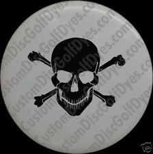 Disc Golf Custom Dye Stencil - Skull & Cross (2 Pack)