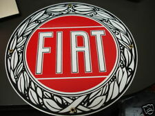 Fiat Porcelain Advertising Sign....X1/9, 500, 600, 2000, 850
