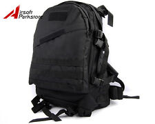 Molle Tactical Assault Backpack Bag Army Military Hunting Day Pack Camping Black