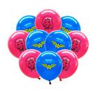 10PCS 12`` Wonder Woman Imprimé Latex Ballons Anniversaire Fête Décoration