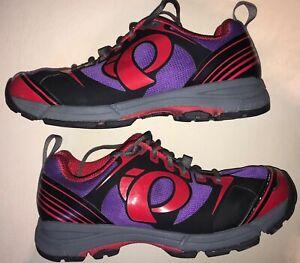 IP Pearl Izumi Women's X-Road Fuel III Cycling Shoes Size 42 EU 11 US Purple
