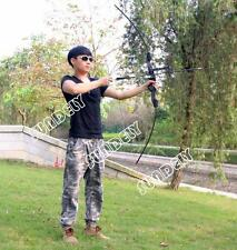 AU stock Takedown Hunting Recurve Bow Target Practice Shooting Bridle hand New