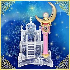Sailor Moon Moonlight Memory Moon Stick & Castle Stand From Japan