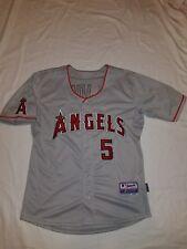 Anaheim Angels MLB Albert Pujols Cool Base Majestic Stitched Jersey Size 50 Vtg