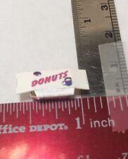 dollhouse miniatures 1:24 NOS Hudson River Donuts
