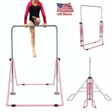 Gymnastics Bars for Kids Adjustable Horizontal Bar Junior Training Bars for Home