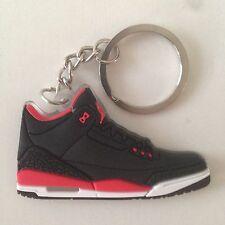 Air Jordan III Schlüsselanhänger Crimson Sneaker Keychain 3
