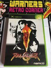 Xbox Japan Import Soul Calibur 2 Retro Gaming Boxed Game