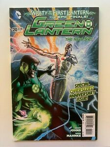 Green Lantern #20 New 52 - 1st appearance Jessica Cruz DC - Auction 1