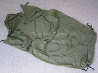 UK BRITISH ARMY SURPLUS 58 PATTERN SLEEPING BAG LINER, GRADE 1 LONG SHORT,MAGGOT