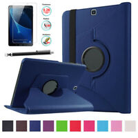 For Samsung Galaxy Tab A 10.1 SM-T580 T585 Rotating 360°Leather Smart Case Cover