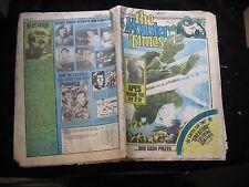 Vintage The Monster Times December 1974 37 Newspaper Magazine Gamera Apes