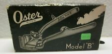 Oster Model B Vintage 1940s Hair Clippers Complete w/ Box and Accessories