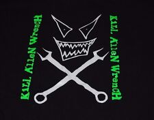 RARE VTG KILL ALLEN WRENCH TOUR SHIRT MENTORS GOTH METAL PUNK EVIL SATANIC M