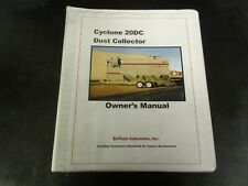 EnTech Industries Cyclone 20DC Dust Collector Owner's Manual