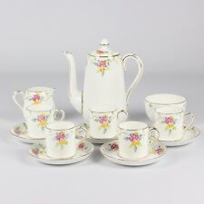 More details for crown staffordshire part coffee set
