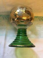 Vintage Mayschosser German Wine Cellar Glass
