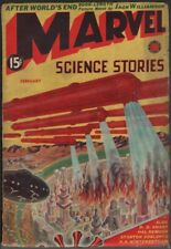 Marvel Science Stories 1939 February, #3.    Pulp