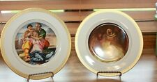 The Danbury Mint Limited Edition 1977 and 1978 Christmas Plates