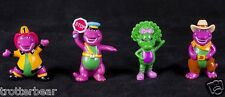 Barney Purple Dinosaur Lyons Party Favors PVC Loose Figures Cake Topper Set 93