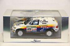 BMW X5 #325, Monterde 9th 2005 Dakar Rally Cars, Spark S0497  Resin  1/43