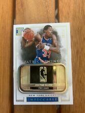 2016-17 Panini Impeccable 1 Troy Ounce Silver Patrick Ewing #/16