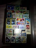 Raumfahrt Lot Briefmarken Sellos Timbres Stamps