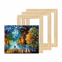 Painting Canvas Wooden Frame for Gallery Wrap Oil Painting,Painting Stretcher Bars DIY,Canvas Mounting Frames,25x35cm//10x14 Wood Stretcher Bars