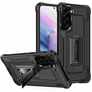 For Samsung Galaxy S21 S20 S10 Plus Ultra Shockproof Kickstand Stand Phone Case