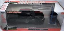 JADA 1:24 DODGE RAM 2014 1500 WITH EXTRA WHEELS DIE-CAST BLACK W/RED 98022-MJ