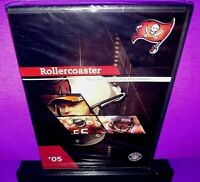 Rollercoaster The 2005 Tampa Bay Buccaneers DVD Brand New B407/B552