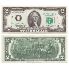 United States USA 2 Dollars 1976 Series B (New York) P-461 Banknotes UNC