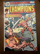CHAMPIONS #5 Black Widow Ghost Rider (1976) VERY FINE/NEAR MINT!!