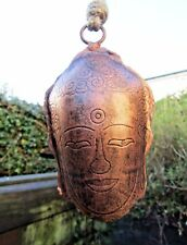 Fair Trade Hand Made Carved Metal Thai Buddha Bell Windchime Wind Chime Mobile