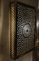 Wall Light Flush Light Brass Moroccan Wall Light Fixture in Antique Brass lamp