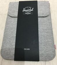 HERSCHEL IPAD Mini 2 & 4 TABLET KINDLE CARRY PROTECTION SLEEVE COVER CASE GREY