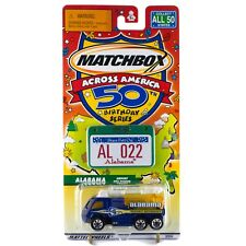 Matchbox Across America AL Alabama Airport Fire Pumper #22 50th Birthday