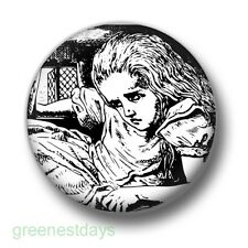 Alice in Wonderland 1 Inch / 25mm Pin Button Badge Cute Mad Hatter Tea Party Fun