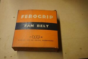 NOS Ferodo V159 Fan Belt (Bristol K6B and L6B Tractor)  - FREE UK P+P