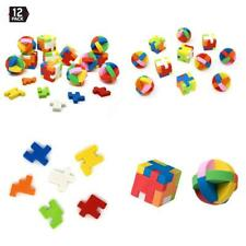 Toys Puzzle Erasers Individually Wrapped Goody Bag Party Favor Stocking Stuffers